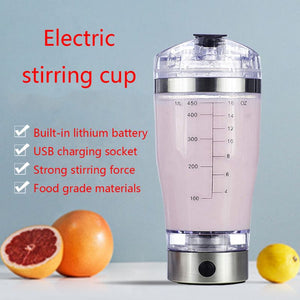 USB Rechargeable Electric Protein Mixing Cup - Protein Shaker - ManKave Gifts & Accessories