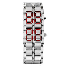 Load image into Gallery viewer, Zeal Digital Wrist Watch - Silver - ManKave Gifts & Accessories