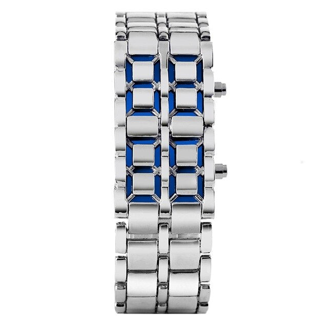 Zeal Digital Wrist Watch - Silver - ManKave Gifts & Accessories