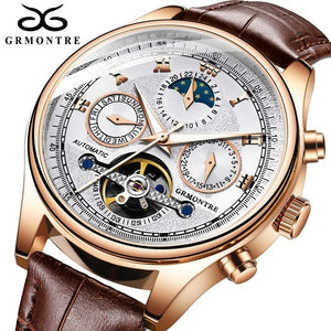 Mans Mechanical Watch - Automatic - Classic Style - ManKave Gifts & Accessories