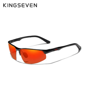 KINGSEVEN Driving Series Polarised Men's Aluminium Sunglasses - ManKave Gifts & Accessories