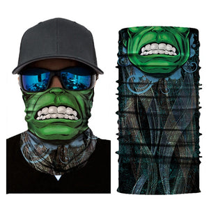 Half Face Mask - Breathable Anti-UV Windproof Cycling Face Mask / Bandana - ManKave Gifts & Accessories