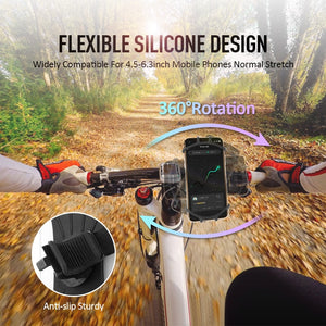 Universal Cycle Phone Holder  - for HandlebarS - ManKave Gifts & Accessories