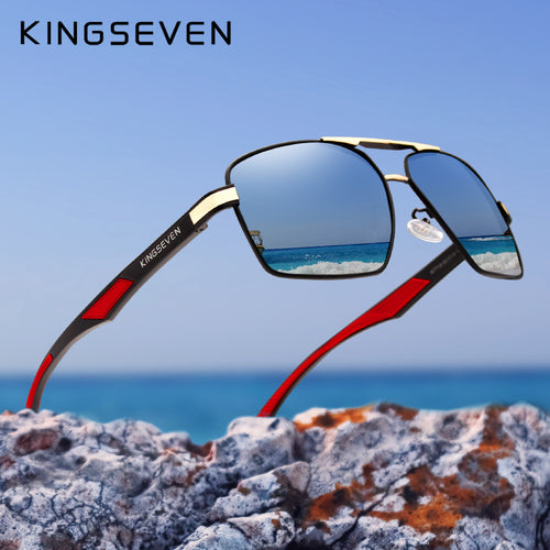 Men's Aluminium Sunglasses - Polarised Lens - ManKave Gifts & Accessories