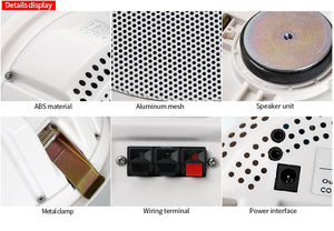 Bluetooth Ceiling Speaker for Bathroom / Kitchen - ManKave Gifts & Accessories