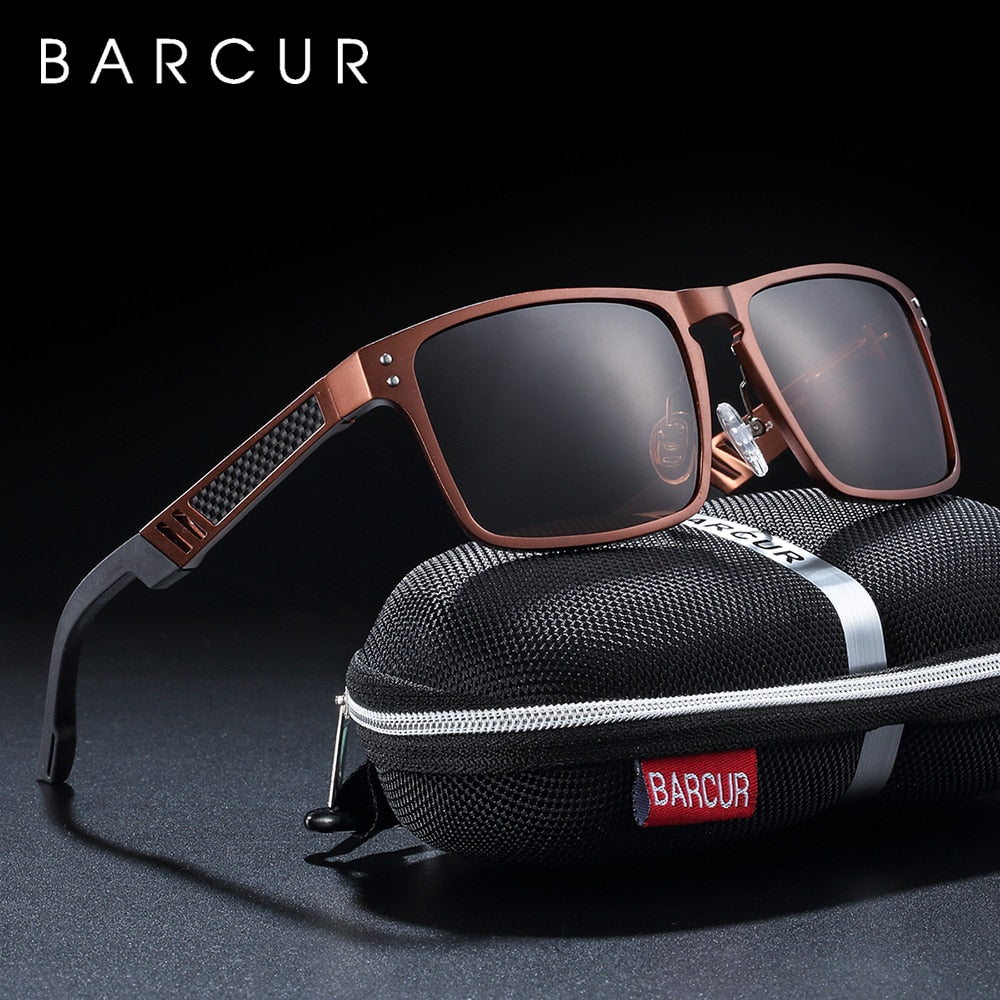 BARCUR 2020 Style Men's Sunglasses - Various Coloursl - ManKave Gifts & Accessories