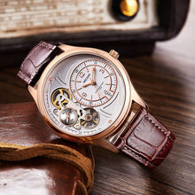 Load image into Gallery viewer, Gentlemen's Watch - Luxury Quartz Watch with Leather Strap