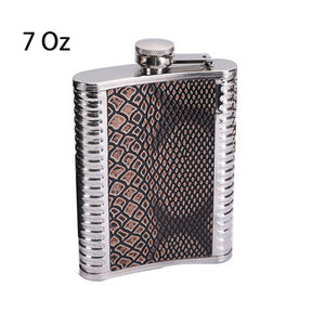 6/7/8/9 Oz Portable Stainless Steel Hip Flask