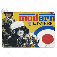 Load image into Gallery viewer, Lambretta Scooter Vintage Tin Signs