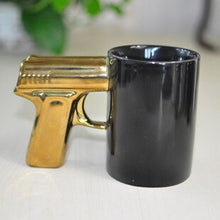 Load image into Gallery viewer, Pistol Grip Gun Mug - Shoot up a Coffee - Man-Kave