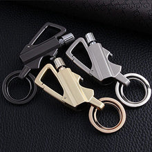 Load image into Gallery viewer, Carabiner Permanent Match - Outdoor Survival Tool Keychain - Man-Kave