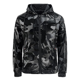 Mens Casual Jacket - 2020 New Arrival - Camouflage Zipper Jacket - Man-Kave