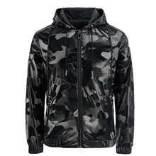 Load image into Gallery viewer, Mens Casual Jacket - 2020 New Arrival - Camouflage Zipper Jacket - Man-Kave