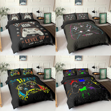 Load image into Gallery viewer, Video Game Bedding Set's