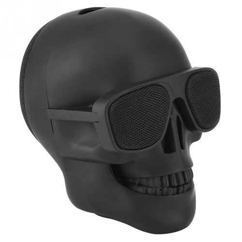Wireless Bluetooth Skull Speaker - Portable Mini Stereo Speaker - Man-Kave