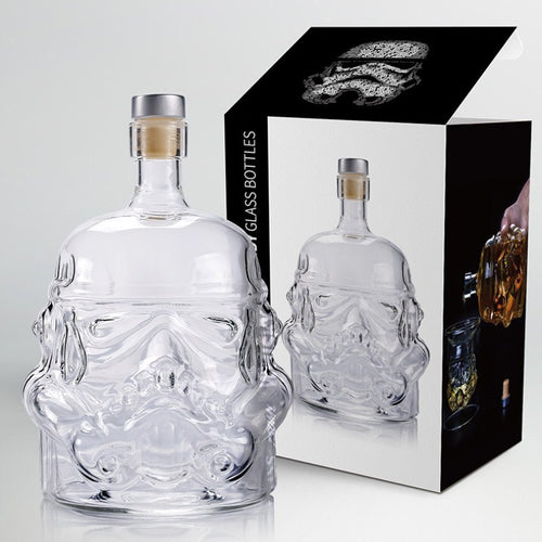 Storm Trooper Whiskey Decanter - 650ml -Star Wars Storm Trooper - Man-Kave