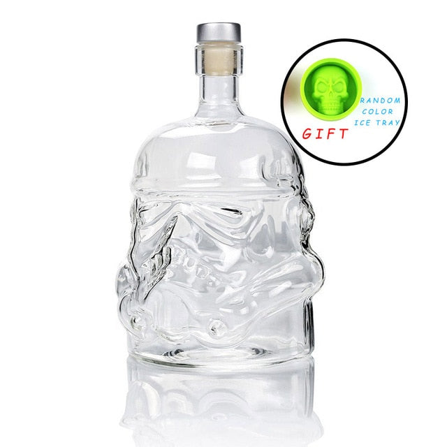 Storm Trooper Whiskey Decanter - 650ml -Star Wars Storm Trooper