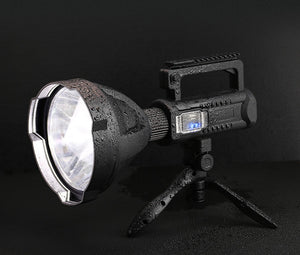 Powerful LED Flashlight Torch - USB Rechargeable