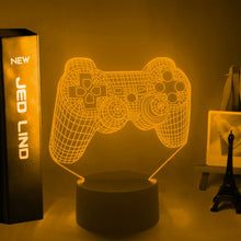 Load image into Gallery viewer, PS Game Controller Led Night Light for Kids