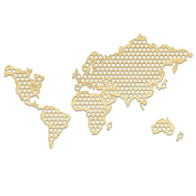 Load image into Gallery viewer, World Bottle Beer Cap Map - Handmade Hanging Map Of The World - ManKave Gifts & Accessories