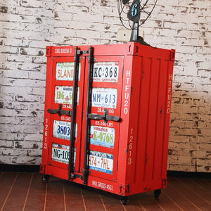 Modern Sub-industry Style Decoration Cabinet - Retro Storage - ManKave Gifts & Accessories
