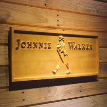 Load image into Gallery viewer, Johnnie Walker Whiskey 3D Wooden Sign - Man-Kave
