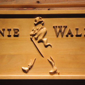 Johnnie Walker Whiskey 3D Wooden Sign - Man-Kave