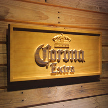 Load image into Gallery viewer, Corona Extra Beer 3D Wooden Sign - Man-Kave
