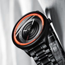 Load image into Gallery viewer, Nibosi Mens Watch - Unique Camera Lens Style - ManKave Gifts & Accessories