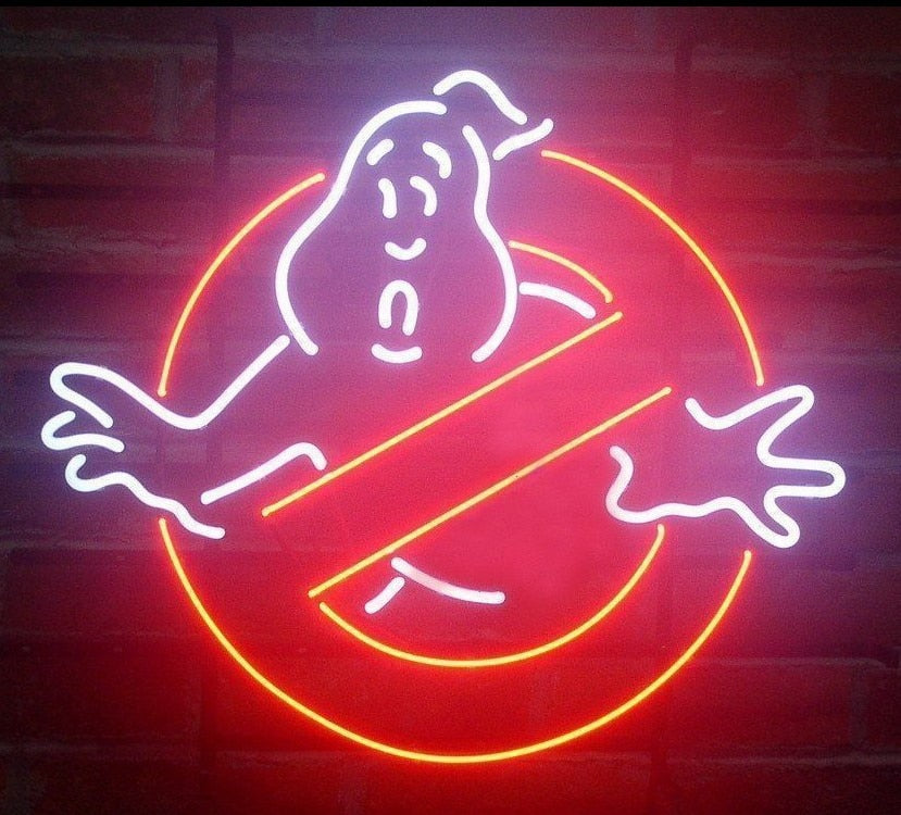 Ghostbusters Neon Light Sign - Man Cave Lighting - ManKave Gifts & Accessories