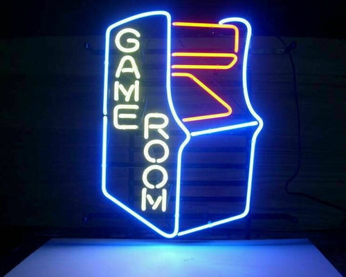 Custom Game Room Arcade Neon Light Sign - ManKave Gifts & Accessories