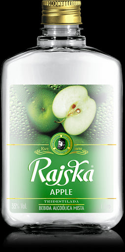 Rajska Apple Pocket Pet 250 Ml - Caixa C/12 Unds Rajska