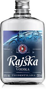 Vodka Rajska Pocket Pet 250 Ml - Palete C/(200x12) Rajska