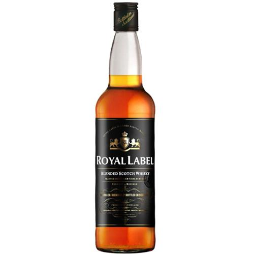 Whisky Royal Label Litro - Caixa C/6 Unds Royal Label