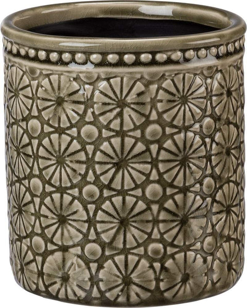 Tall Medallion Vase