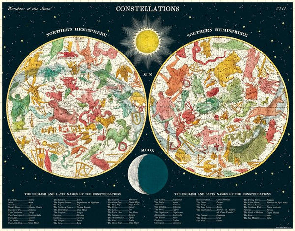 Constellations Vintage-Inspired Puzzle