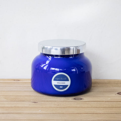 Volcano Signature Blue Candle