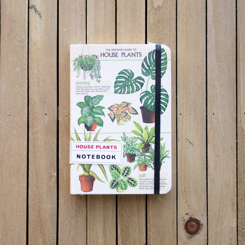 House Plants Lined Notebook