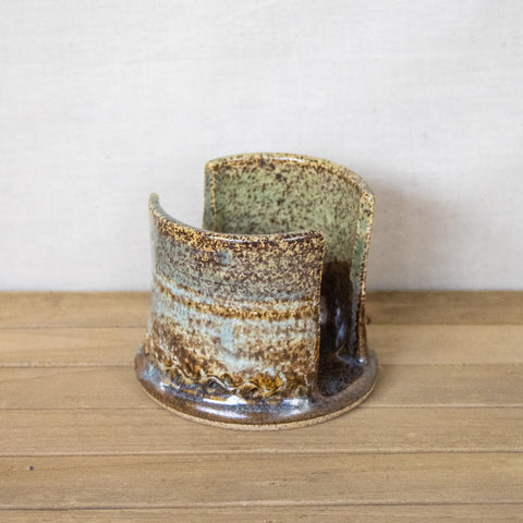 Etowah River Pottery Sponge Holder