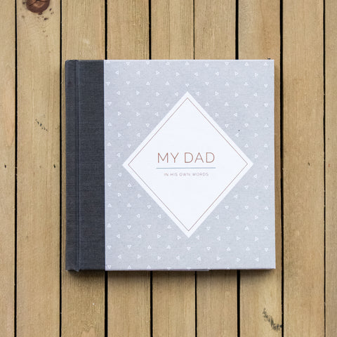 My Dad In His Own Words Interview Book