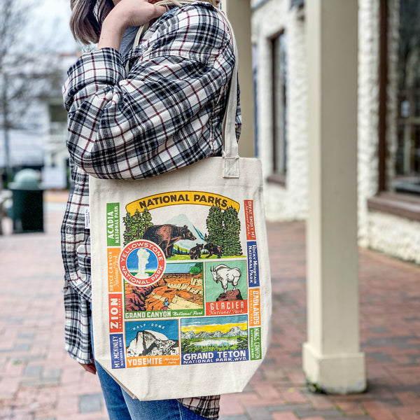 National Parks Vintage Tote