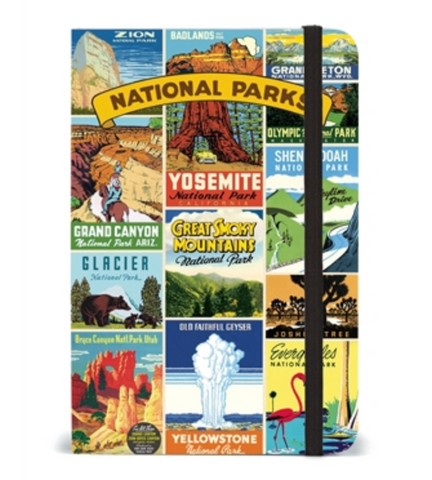 National Parks Small Notebook