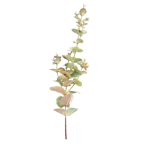 Yellow Eucalyptus Floral Pick