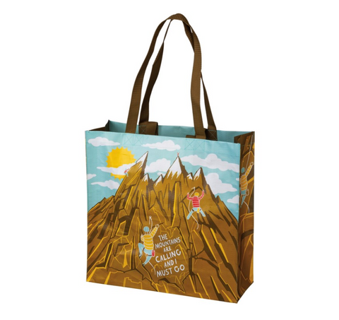 Mountains Are Calling Tote