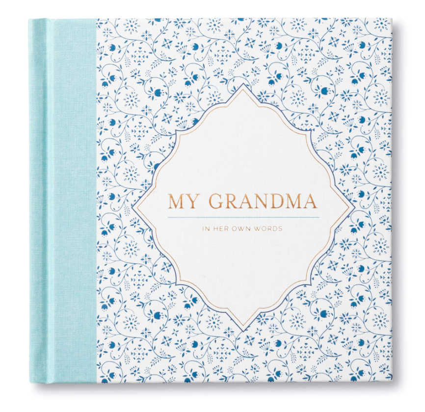 My Grandma In Her Own Words Interview Book