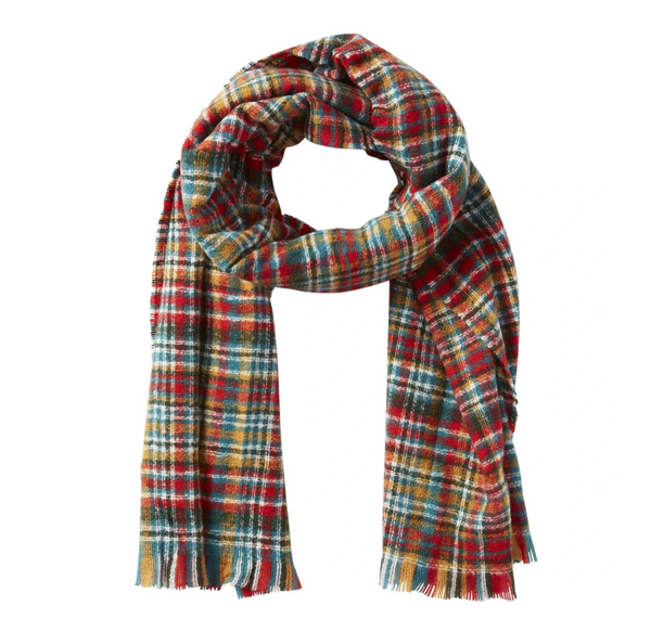 Forest Dean Plaid Scarf