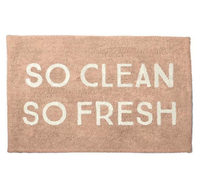 So Clean So Fresh Bath Mat
