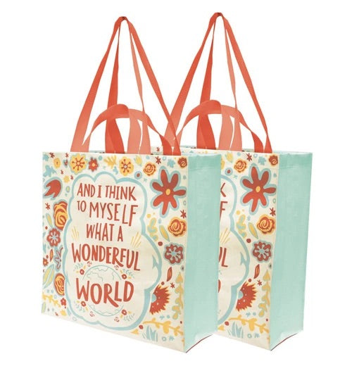 Wonderful World Tote