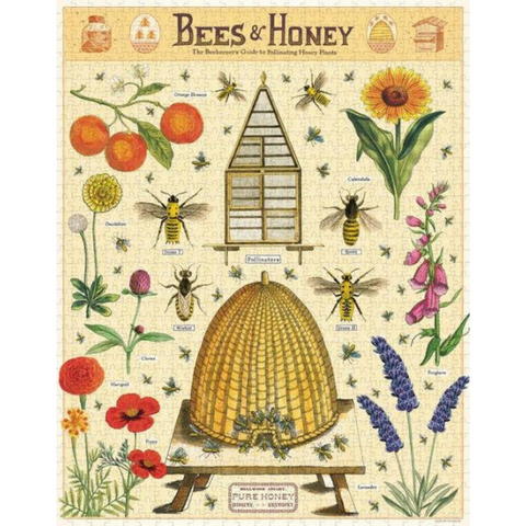Bees & Honey Vintage-Inspired Puzzle