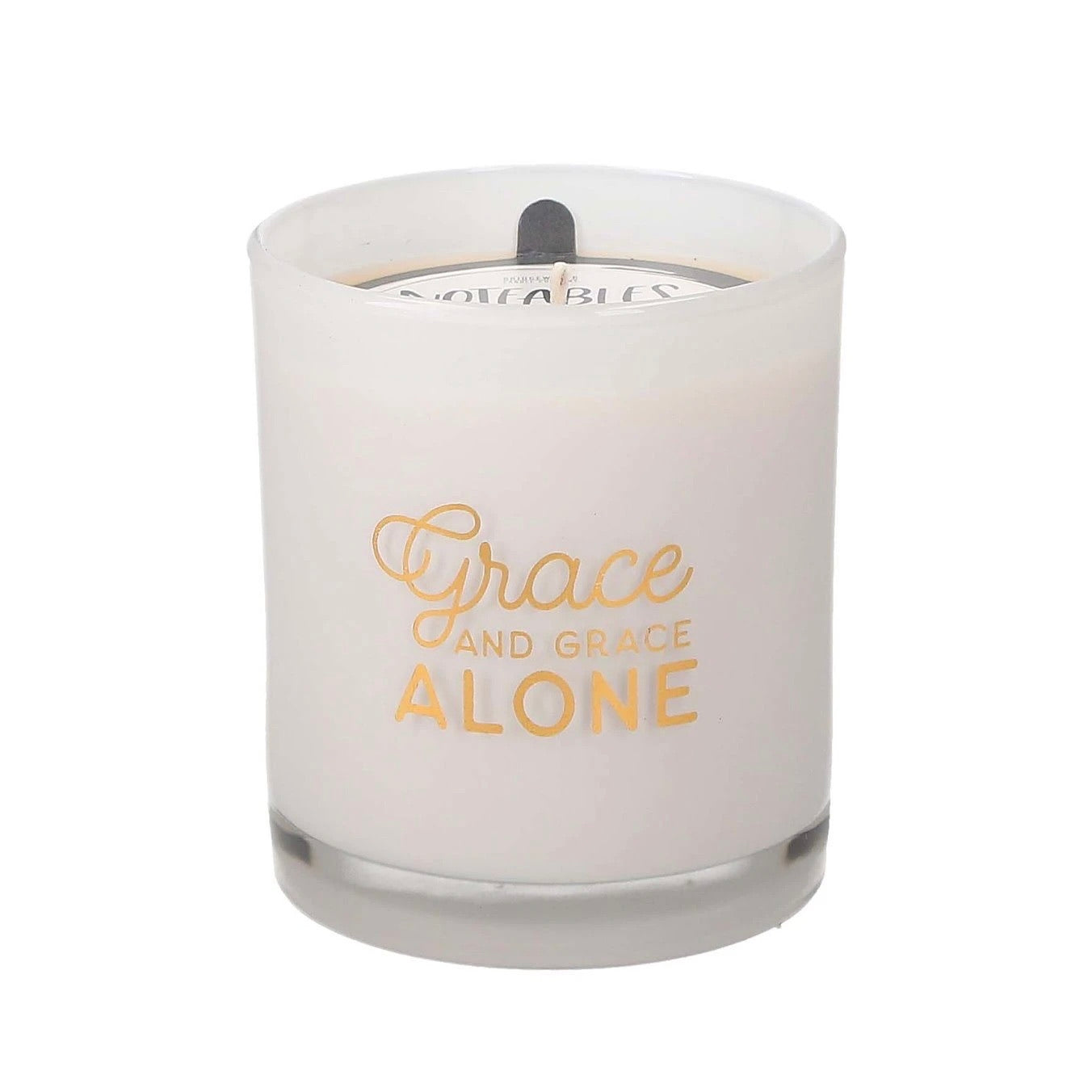 Grace Alone Noteables Candle